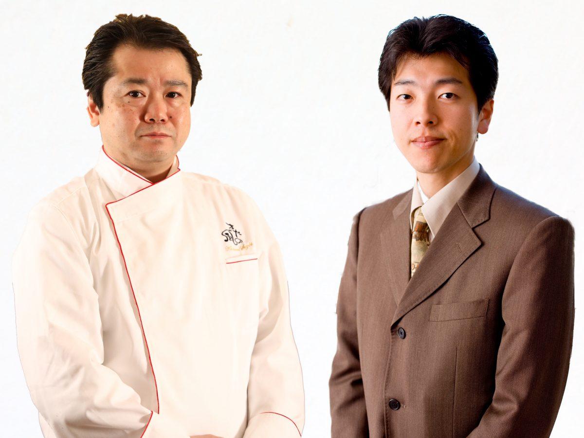 鈴木総料理長と進一博ソムリエ